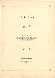Page 4, 1924 Edition, Bowling Green State University - Key Yearbook (Bowling Green, OH) online yearbook collection
