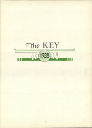 Page 7, 1928 Edition, Bowling Green State University - Key Yearbook (Bowling Green, OH) online yearbook collection