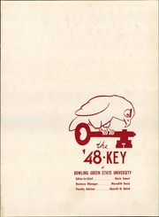 Page 5, 1948 Edition, Bowling Green State University - Key Yearbook (Bowling Green, OH) online yearbook collection