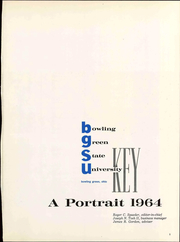 Page 7, 1964 Edition, Bowling Green State University - Key Yearbook (Bowling Green, OH) online yearbook collection