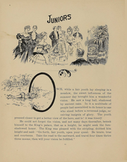 Page 11, 1899 Edition, College of Wooster - Index Yearbook (Wooster, OH) online yearbook collection
