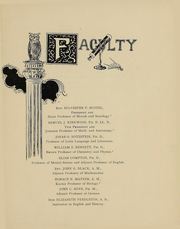 Page 8, 1899 Edition, College of Wooster - Index Yearbook (Wooster, OH) online yearbook collection