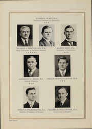 Page 12, 1919 Edition, College of Wooster - Index Yearbook (Wooster, OH) online yearbook collection
