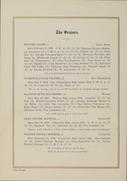 Page 16, 1919 Edition, College of Wooster - Index Yearbook (Wooster, OH) online yearbook collection