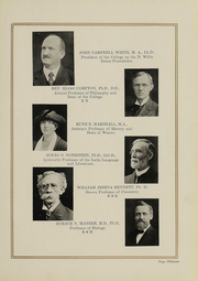 Page 9, 1919 Edition, College of Wooster - Index Yearbook (Wooster, OH) online yearbook collection