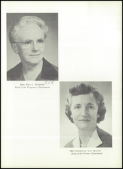 Page 11, 1959 Edition, Hathaway Brown School - Specularia Yearbook (Cleveland, OH) online yearbook collection