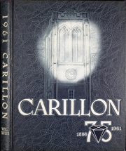 1961 Edition, John Carroll University - Carillon Yearbook (University Heights, OH)