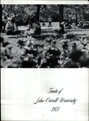 Page 9, 1974 Edition, John Carroll University - Carillon Yearbook (University Heights, OH) online yearbook collection