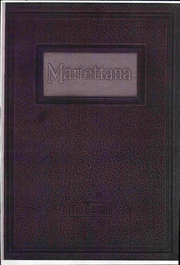 1927 Edition, Marietta College - Mariettana Yearbook (Marietta, OH)