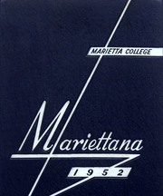 1952 Edition, Marietta College - Mariettana Yearbook (Marietta, OH)