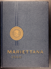 1960 Edition, Marietta College - Mariettana Yearbook (Marietta, OH)