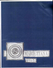 1965 Edition, Marietta College - Mariettana Yearbook (Marietta, OH)