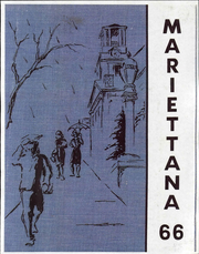 1966 Edition, Marietta College - Mariettana Yearbook (Marietta, OH)