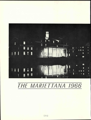 Page 8, 1966 Edition, Marietta College - Mariettana Yearbook (Marietta, OH) online yearbook collection