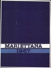 1967 Edition, Marietta College - Mariettana Yearbook (Marietta, OH)