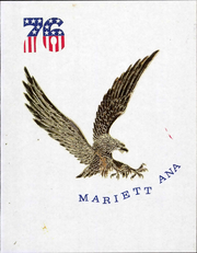 1976 Edition, Marietta College - Mariettana Yearbook (Marietta, OH)