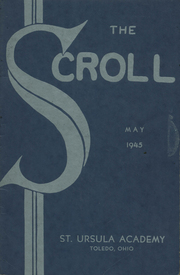 Page 1, 1930 Edition, Saint Ursula Academy - Scroll Yearbook (Toledo, OH) online yearbook collection