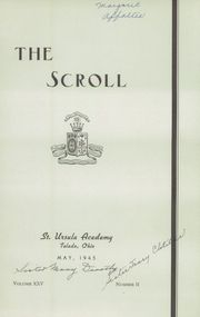 Page 3, 1930 Edition, Saint Ursula Academy - Scroll Yearbook (Toledo, OH) online yearbook collection