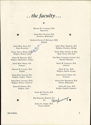 Page 13, 1948 Edition, Saint Ursula Academy - Scroll Yearbook (Toledo, OH) online yearbook collection