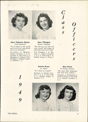 Page 15, 1949 Edition, Saint Ursula Academy - Scroll Yearbook (Toledo, OH) online yearbook collection