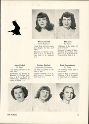 Page 17, 1949 Edition, Saint Ursula Academy - Scroll Yearbook (Toledo, OH) online yearbook collection