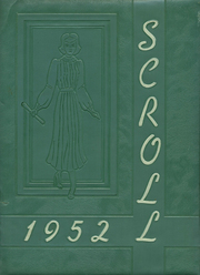 1952 Edition, Saint Ursula Academy - Scroll Yearbook (Toledo, OH)