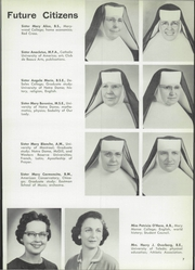 Page 11, 1958 Edition, Saint Ursula Academy - Scroll Yearbook (Toledo, OH) online yearbook collection