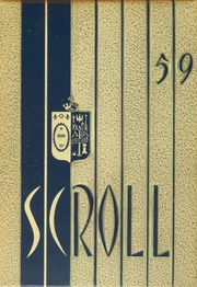 1959 Edition, Saint Ursula Academy - Scroll Yearbook (Toledo, OH)