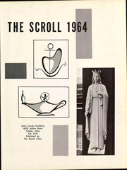 Page 9, 1964 Edition, Saint Ursula Academy - Scroll Yearbook (Toledo, OH) online yearbook collection