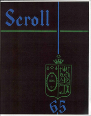 1965 Edition, Saint Ursula Academy - Scroll Yearbook (Toledo, OH)