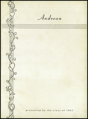 Page 5, 1950 Edition, Andrews School - Andrean Yearbook (Willoughby, OH) online yearbook collection