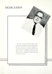 Page 8, 1961 Edition, Case Western Reserve University School of Medicine - Aesculapian Yearbook (Cleveland, OH) online yearbook collection