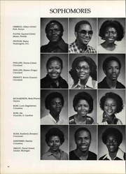 Page 98, 1979 Edition, Central State University - Centralian Yearbook (Wilberforce, OH) online yearbook collection