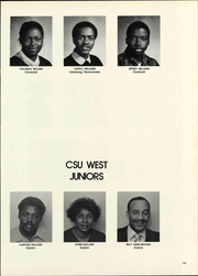 Page 145, 1980 Edition, Central State University - Centralian Yearbook (Wilberforce, OH) online yearbook collection