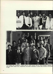 Page 150, 1980 Edition, Central State University - Centralian Yearbook (Wilberforce, OH) online yearbook collection
