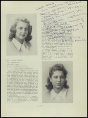 Page 11, 1945 Edition, Columbus School for Girls - Topknot Yearbook (Columbus, OH) online yearbook collection