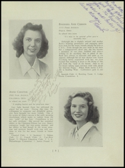 Page 13, 1945 Edition, Columbus School for Girls - Topknot Yearbook (Columbus, OH) online yearbook collection