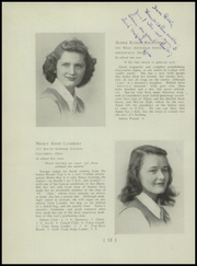 Page 16, 1945 Edition, Columbus School for Girls - Topknot Yearbook (Columbus, OH) online yearbook collection