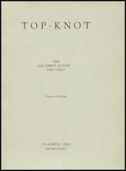 Page 5, 1945 Edition, Columbus School for Girls - Topknot Yearbook (Columbus, OH) online yearbook collection