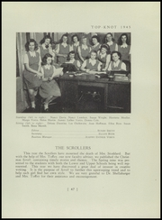 Page 51, 1945 Edition, Columbus School for Girls - Topknot Yearbook (Columbus, OH) online yearbook collection