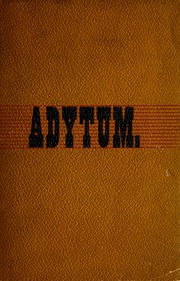 Denison University - Adytum Yearbook (Granville, OH) online yearbook collection, 1888 Edition, Page 1