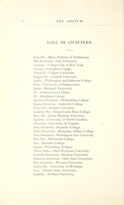Page 90, 1891 Edition, Denison University - Adytum Yearbook (Granville, OH) online yearbook collection