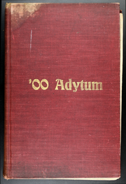 Denison University - Adytum Yearbook (Granville, OH) online yearbook collection, 1900 Edition, Page 1