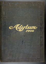Page 1, 1906 Edition, Denison University - Adytum Yearbook (Granville, OH) online yearbook collection
