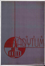 Page 1, 1936 Edition, Denison University - Adytum Yearbook (Granville, OH) online yearbook collection
