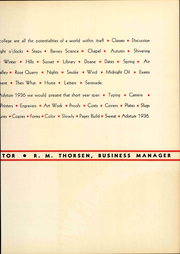 Page 11, 1936 Edition, Denison University - Adytum Yearbook (Granville, OH) online yearbook collection