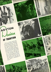 Page 11, 1937 Edition, Denison University - Adytum Yearbook (Granville, OH) online yearbook collection
