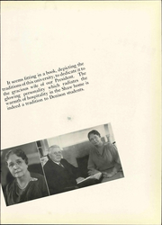 Page 13, 1937 Edition, Denison University - Adytum Yearbook (Granville, OH) online yearbook collection