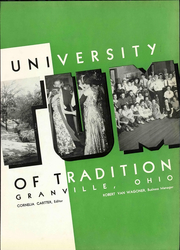 Page 9, 1937 Edition, Denison University - Adytum Yearbook (Granville, OH) online yearbook collection