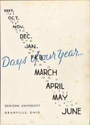 Page 7, 1947 Edition, Denison University - Adytum Yearbook (Granville, OH) online yearbook collection